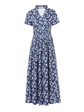Load image into Gallery viewer, Jolie Moi Tie Neck Print Maxi Dress