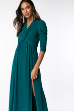 Load image into Gallery viewer, Twist Knot Front Bridesmaid Dress