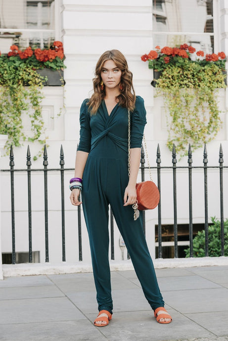 Twist Knot Jumpsuit