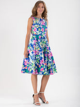 Load image into Gallery viewer, Retro Wrap Belted  Swing Dress