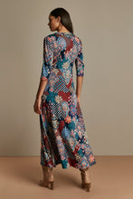Load image into Gallery viewer, Twist Front Maxi Dress, Paisley Multi