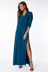 Twist Knot Front Bridesmaid Dress