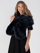 Load image into Gallery viewer, Jolie Moi Faux Fur Shawl Wrap