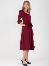 Load image into Gallery viewer, Bell Sleeve Midi Dress