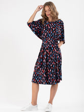 Load image into Gallery viewer, Batwing Spotty Jersey Dress , Multi