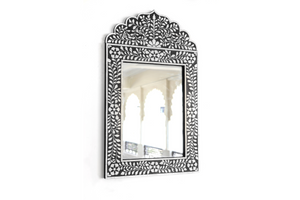 Mirror frame with overlay work 1