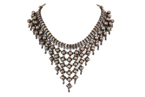 Indian traditional neckalce with ball design