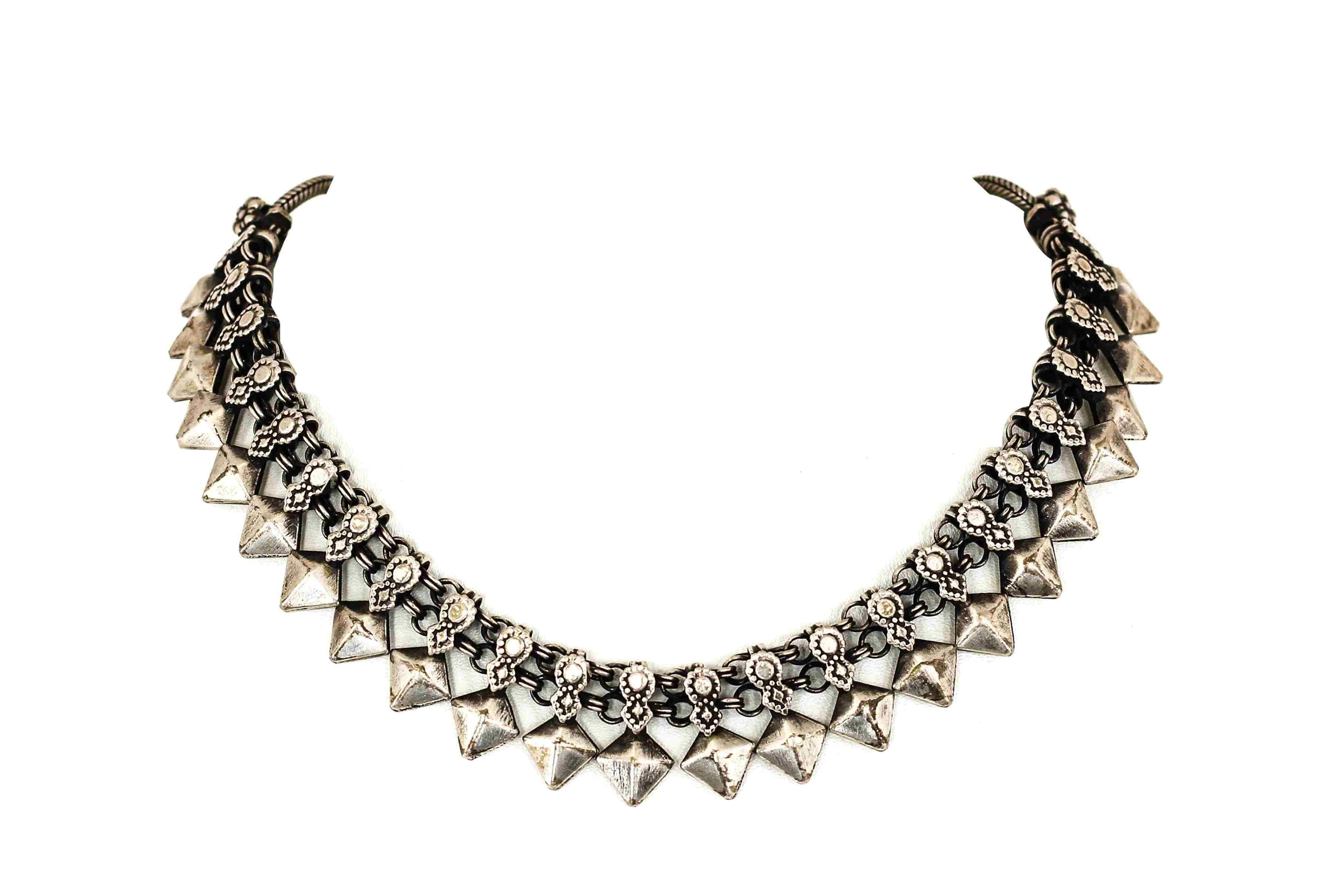 silver necklace online