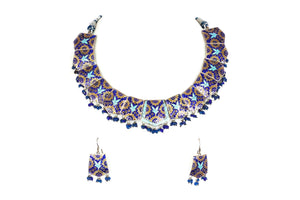 Enameled necklace set 1