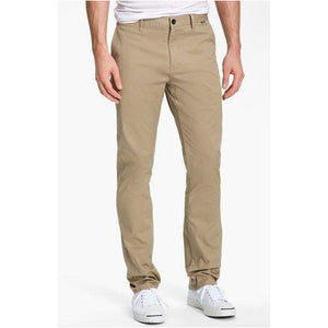 Corman Slim Stretch Chino Pant - Trader Vic's