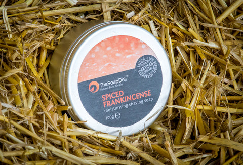 Spiced Frankincense Shaving Soap