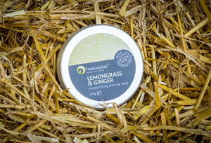 Fresh, zesty and invigorating shaving soap