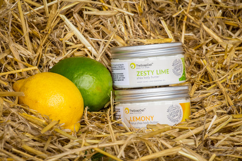 Double up so that you can mix and match on your favourite citrus body butters