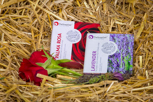 Double up on floral handmade soaps