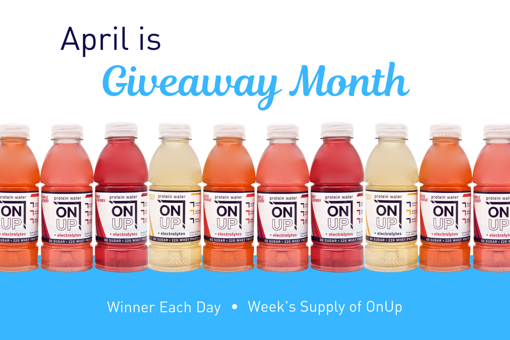 April is giveaway month