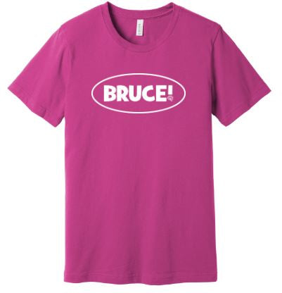 Bruce! Berry T-Shirt