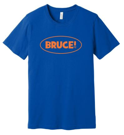 Bruce! Royal Shirt