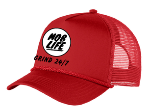 Mob Life Hat Front Only