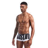White Austin Print String Summer Brief