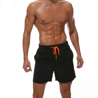 The Black Draw String Swim Shorts
