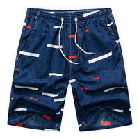 The Blues Night Draw String Beach Shorts