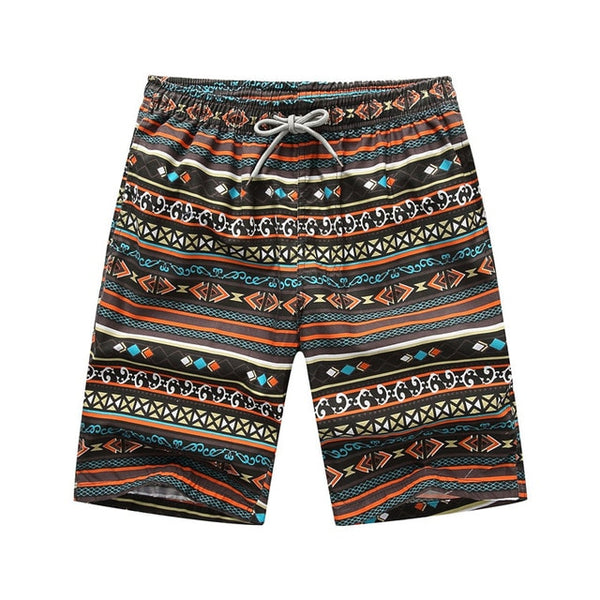 The Tribe Draw String Beach Shorts