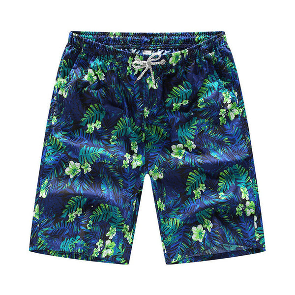The Blues Rain-forest Draw String Beach Shorts