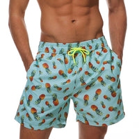 The Pineapples Draw String Swim Shorts