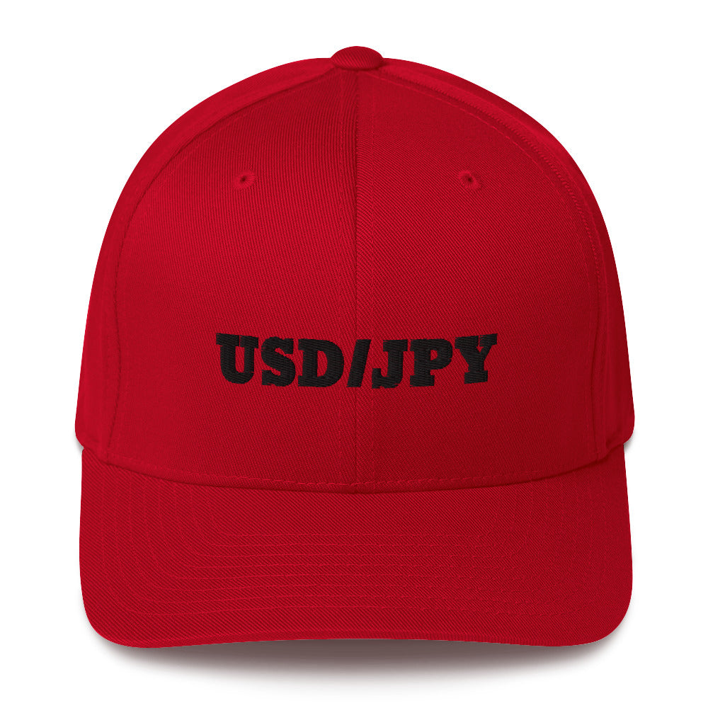 USD/JPY Structured Twill Cap