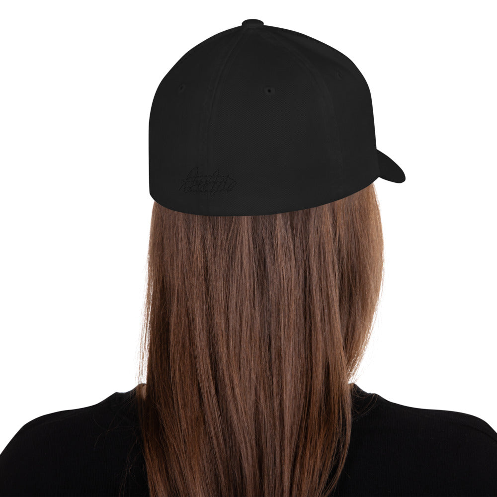 BLACK I BUY HOUSES Structured Twill Cap