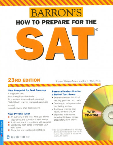 How to Prepare for the SAT 23rd Edition