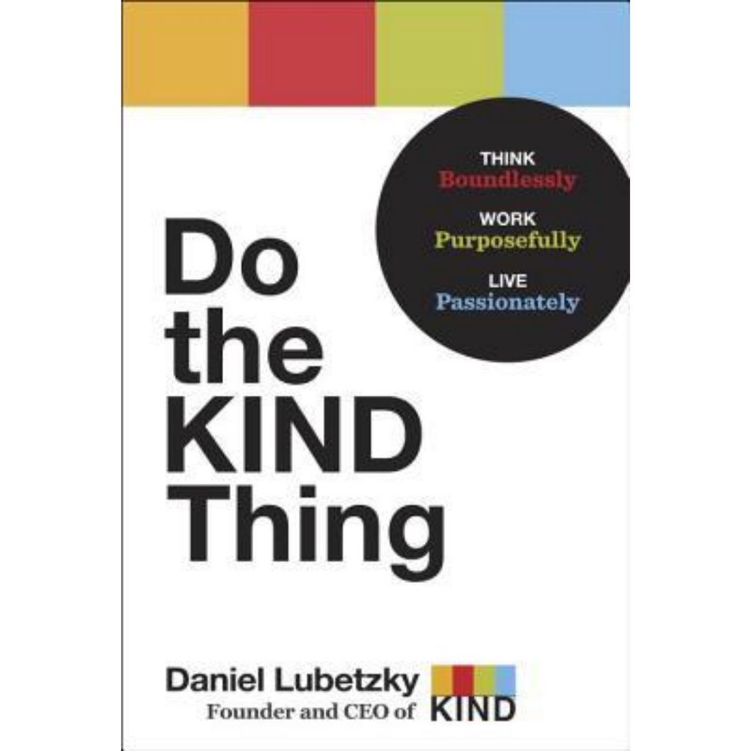 do the kind thing (hardcover)