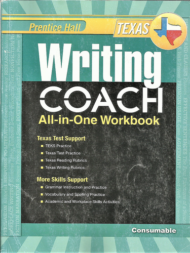 Writing Coach All-in-One Workbook Grade 9