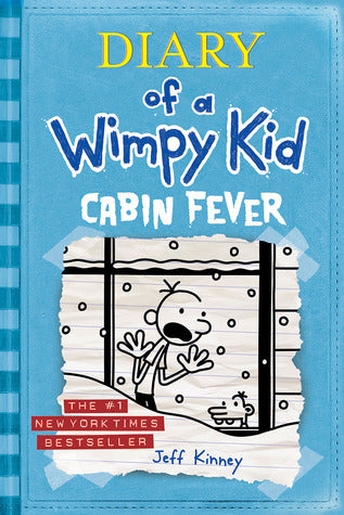 Diary Of A Wimpy Kid: Cabin Fever (Hardcover)