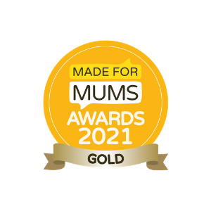 modern cloth nappeis made for mums awards gold badge