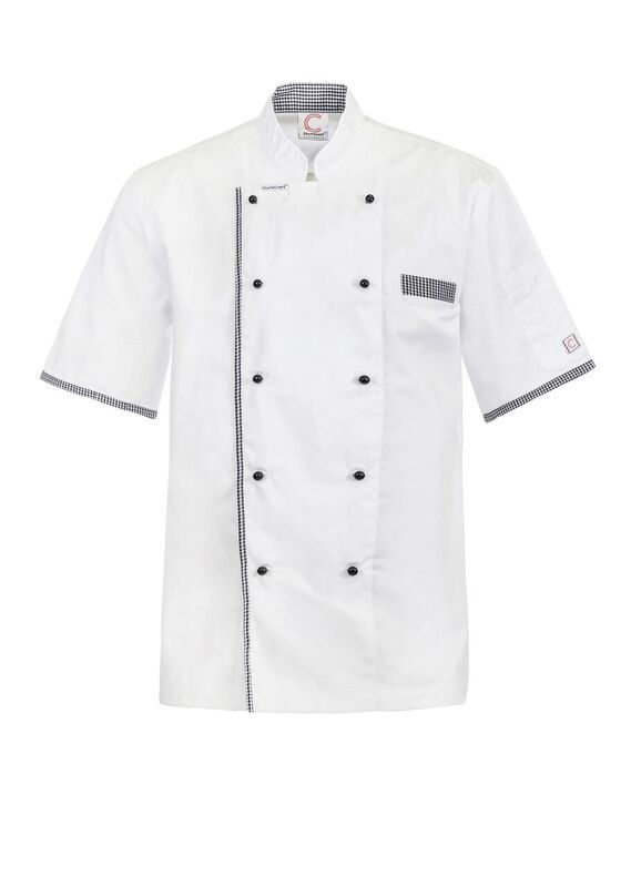 CJ042 Executive Chef Jacket Vent With Buttons