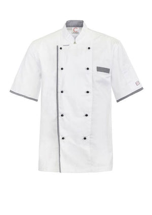 EXECUTIVE CHEF JACKET VENT WITH BUTTONS