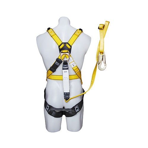 MSA Integral Workman Harness with lanyard with KARABINER LARGE