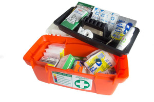 WORKPLACE PORTABLE PLASTIC HARD CASE FIRST AID KIT