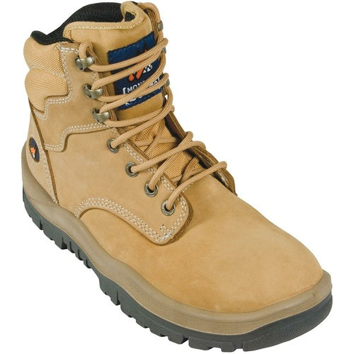 MONGREL 'P' Series Wheat Lace Up Safety Boots 260050