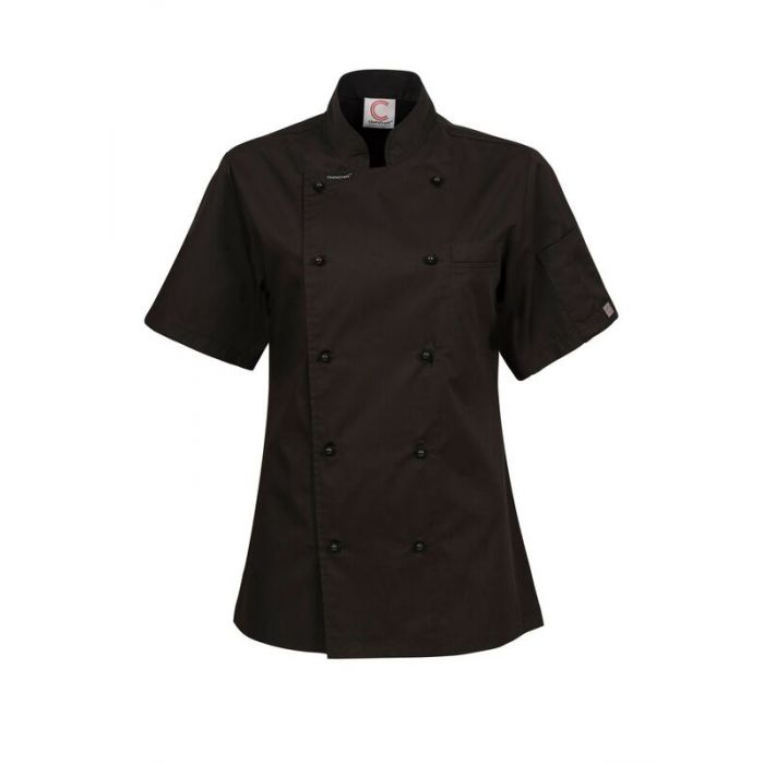 CJL22 Ladies Exec Chef Jkt Short Sl