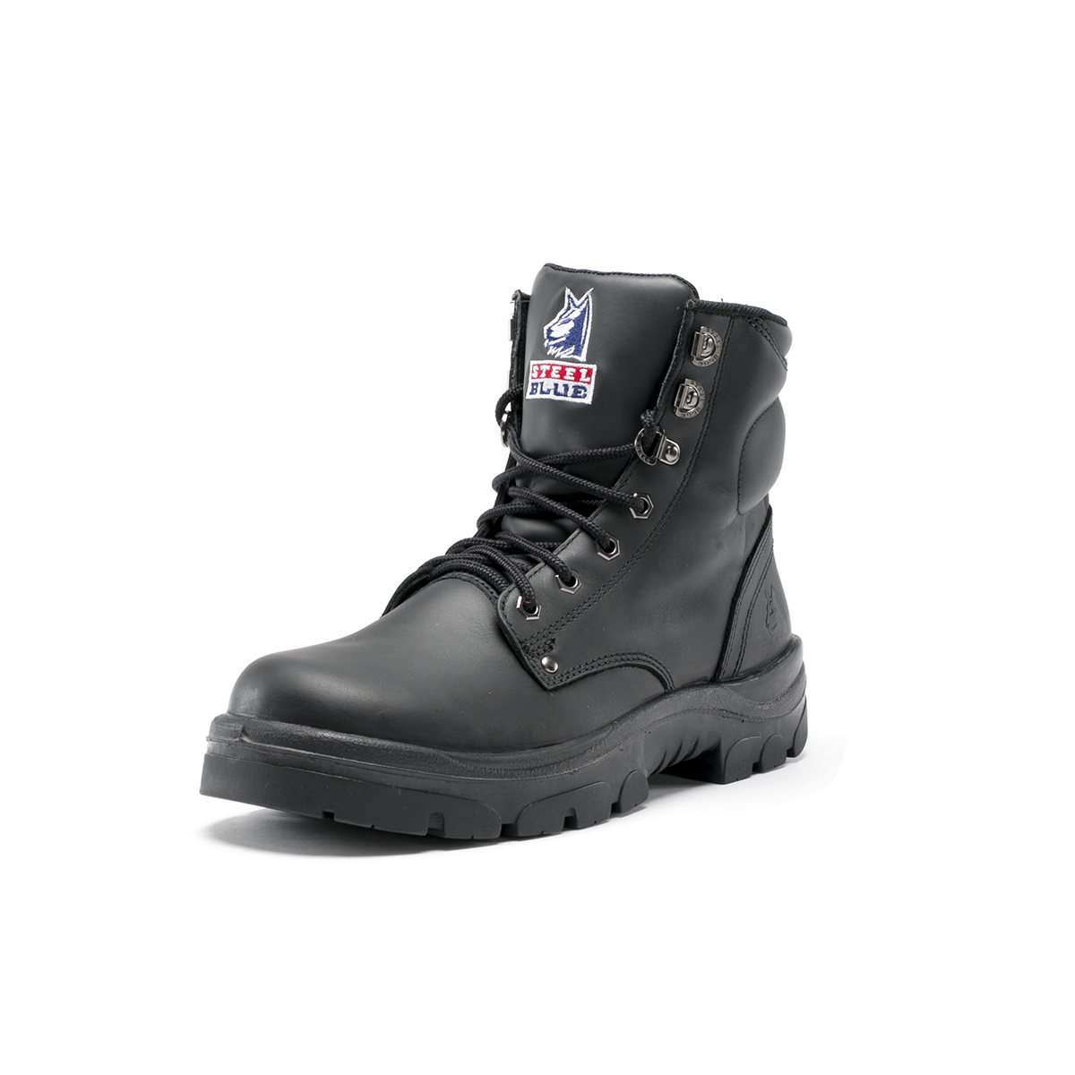 Steel Blue Argyle Safety Boots w/ Bump Cap 332102
