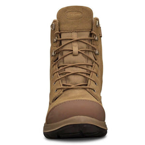 Oliver 190mm Hi-Leg Beige Zip Sided Safety Boots 34-674