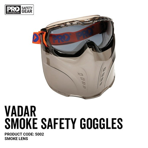 Vadar Goggle Shield Smoke Lens