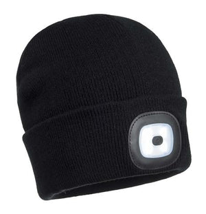 B029 Beanie LED Head Light USB Rechargeable
