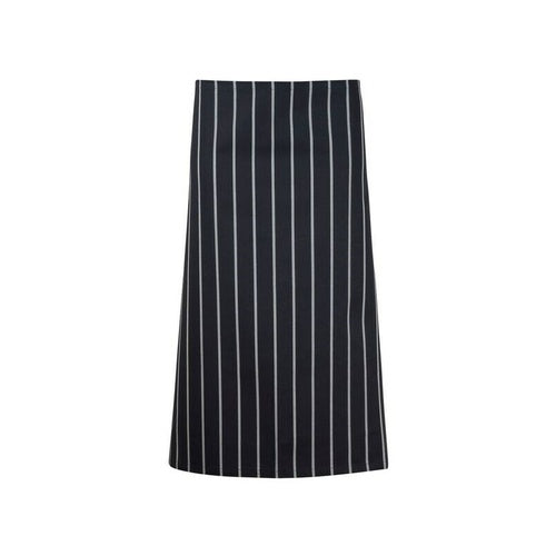 CA002 3/4 Length Apron Cafe Stripe
