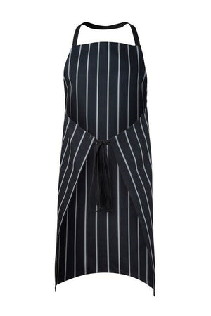 CA005 Full Bib Cafe Stripe Apron