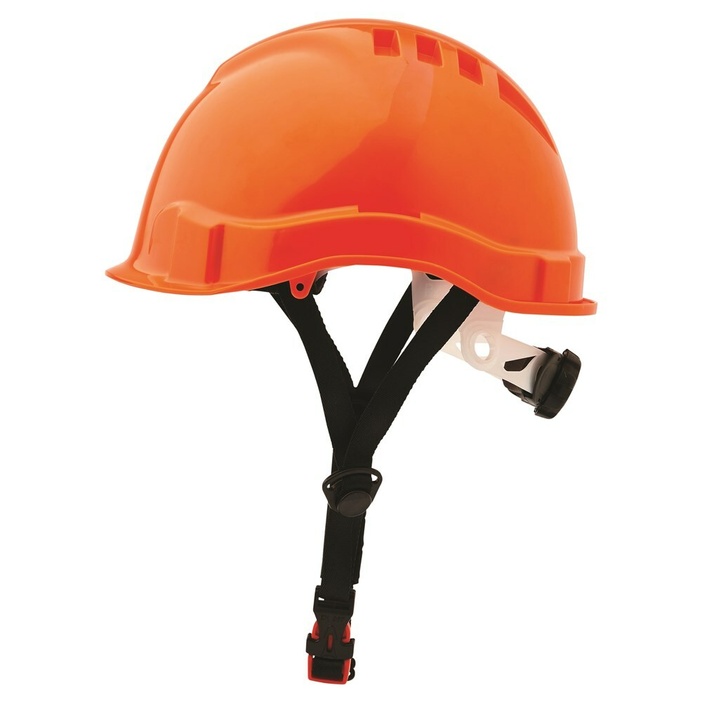 V6 Hard Hat Vented Micro Peak Linesman Ratchet Harness