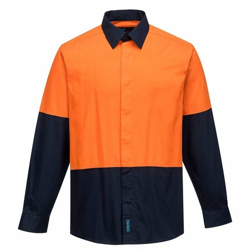 MF150 Food Industry Lightweight Cotton Shirt