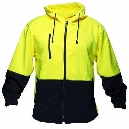 MH317 Water Repellent Brush Fleece Hoodie